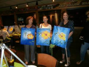 paint night June 2015