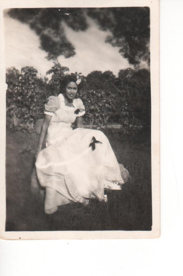 REIMA 1940'S GRANDMA MADE DRESS FOR A BENEFIT