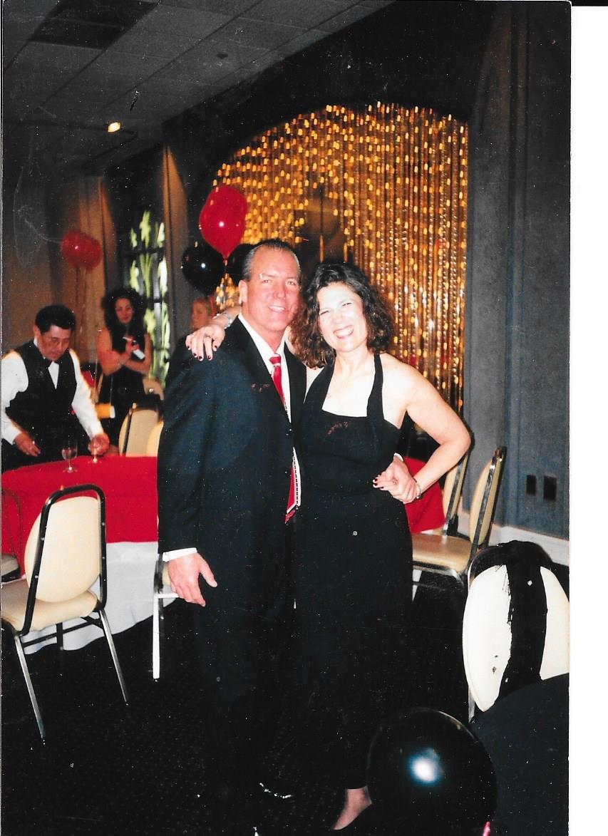 Susan Sontup and Matt Ferber 70's Reunion 2001